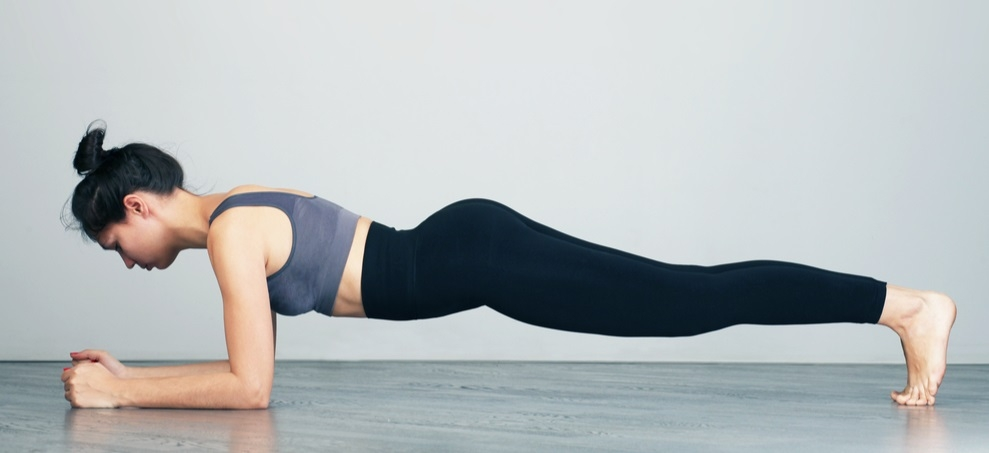 Allenare il corpo con il plank!