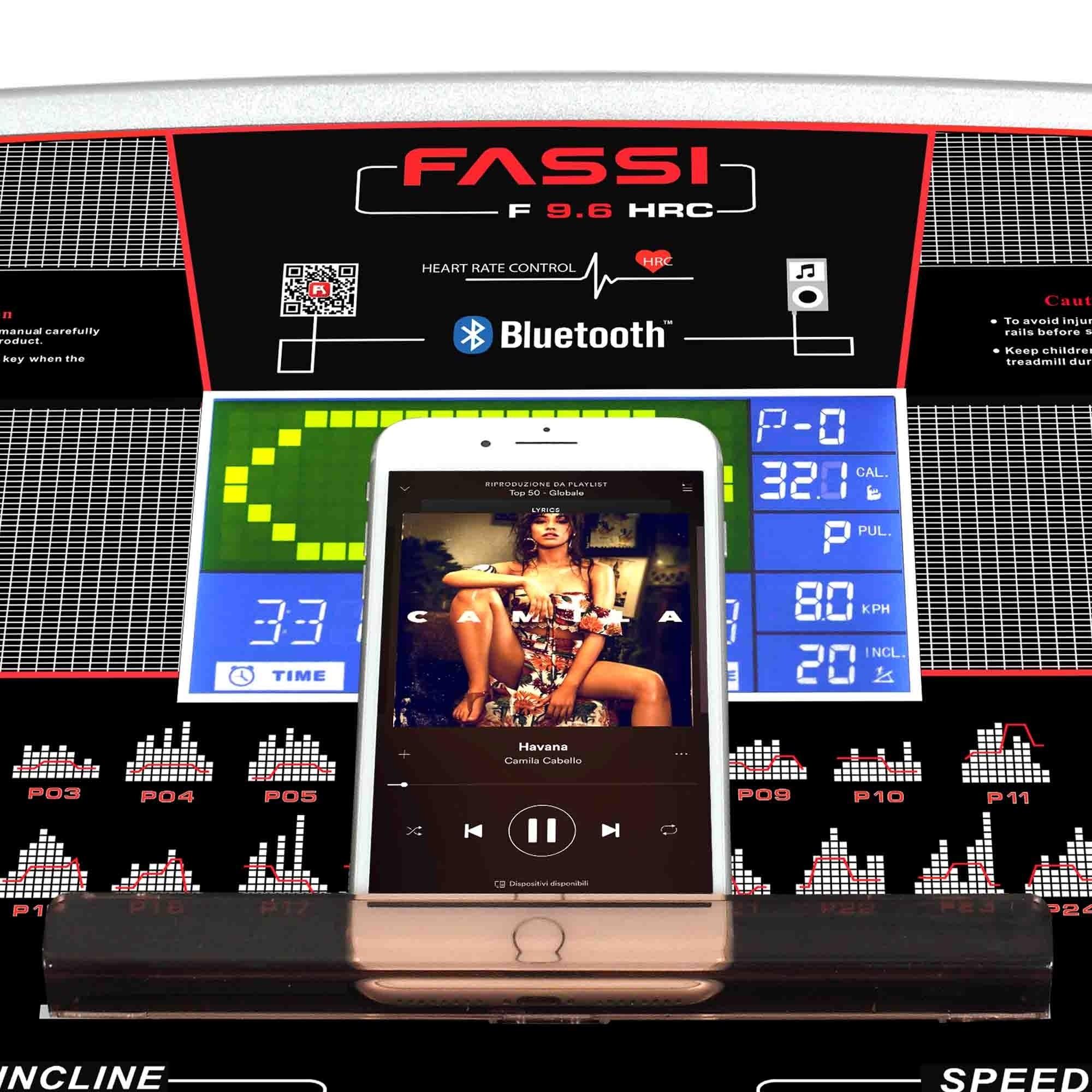 Rimani in forma con Tapis roulant Fassi F 9.6 Hrc
