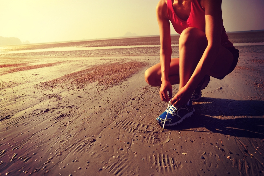 correre sabbia