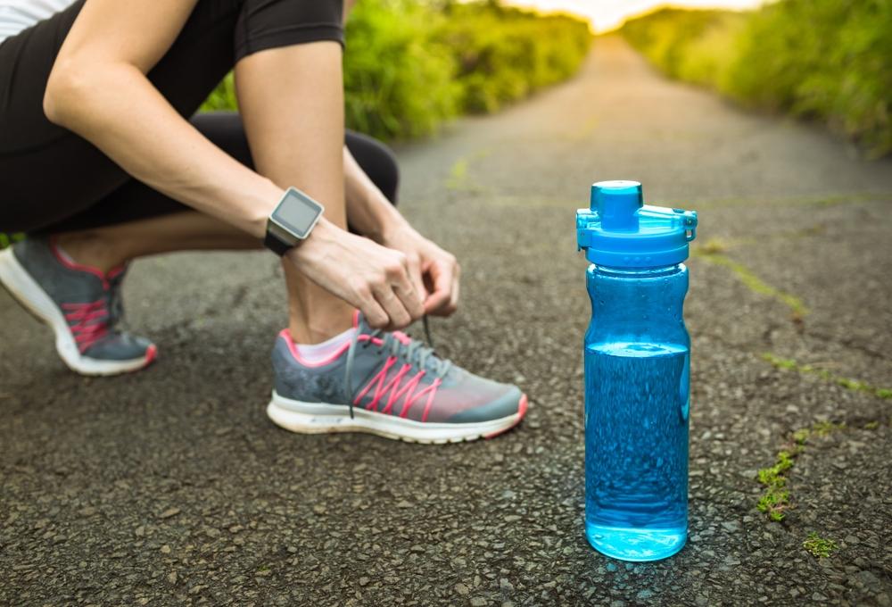 bere acqua allenamento