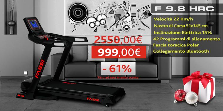 Promo Tapis Roulant Fassi F 9.8