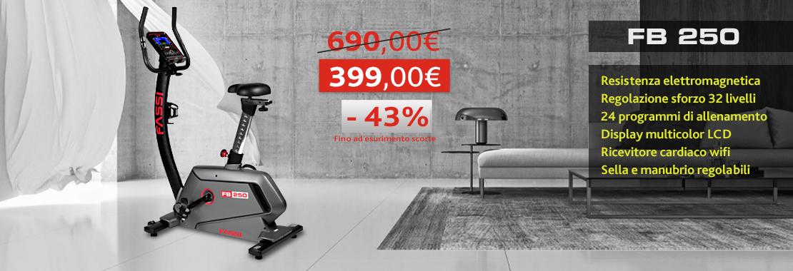 Offerta Cyclette Fassi Fb 250