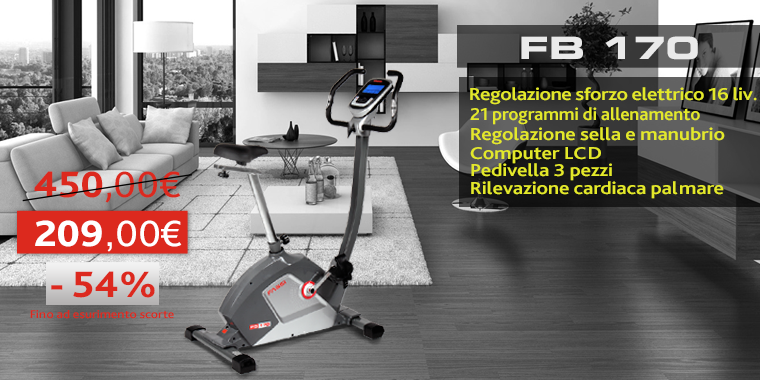 Promo Cyclette Fassi FB170