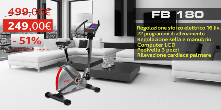 Promo Cyclette Fassi FB180