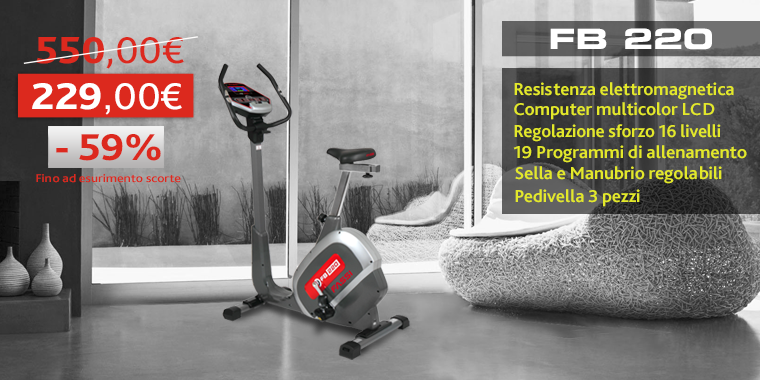 Promo Cyclette Fassi FB220