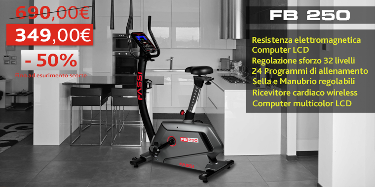 Promo Cyclette Fassi FB250