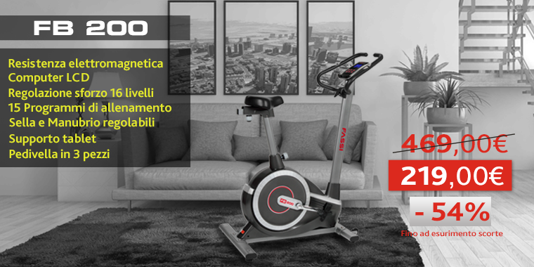 Promo Cyclette Fassi FB 200