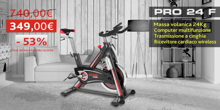 Promo Cyclette Fassi PRO24F