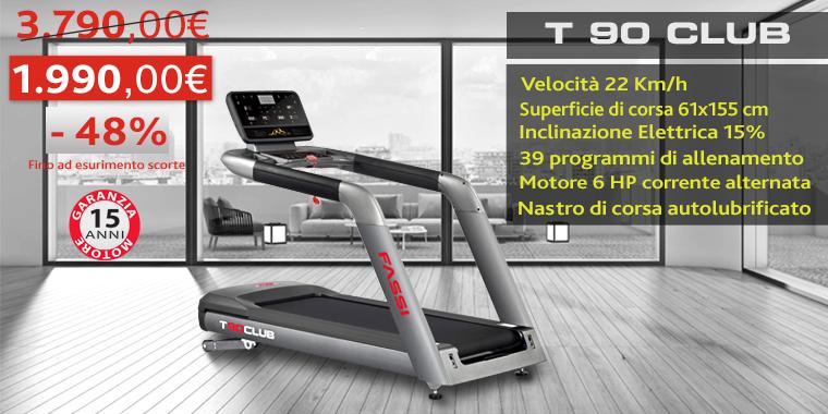 Promo Tapis Roulant Fassi T 90