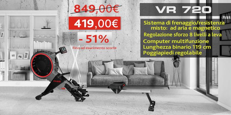 Promo Ellittica Fassi Vr 720