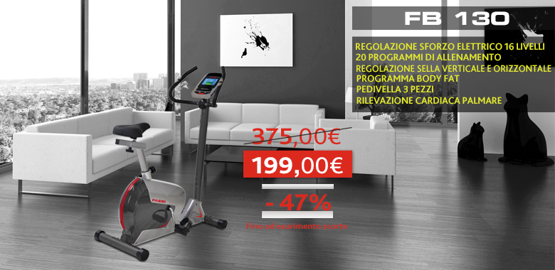 Promo Cyclette FB130