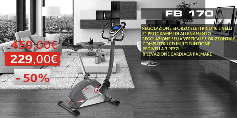 Promo Cyclette FB170