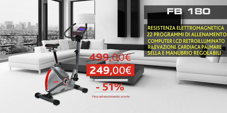 Promo Cyclette Fassi FB180