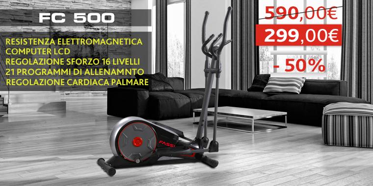 Promo Ellittica Fassi FC 500