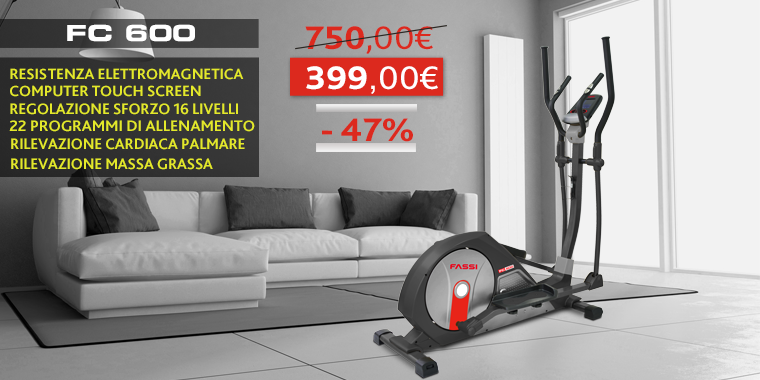 Promo Ellittica Fassi FC 600
