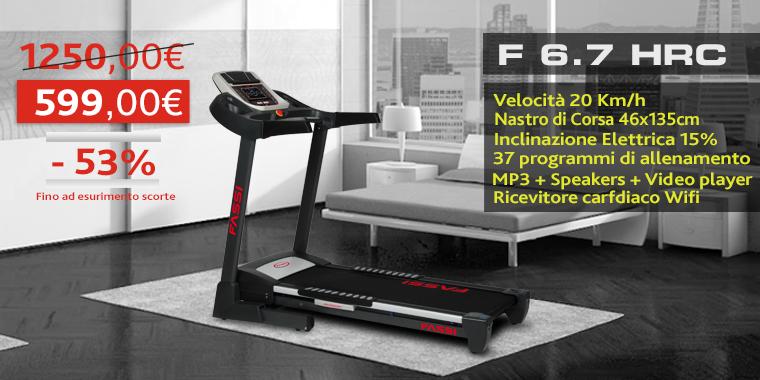 Promo Tapis Roulant Fassi F 6.7