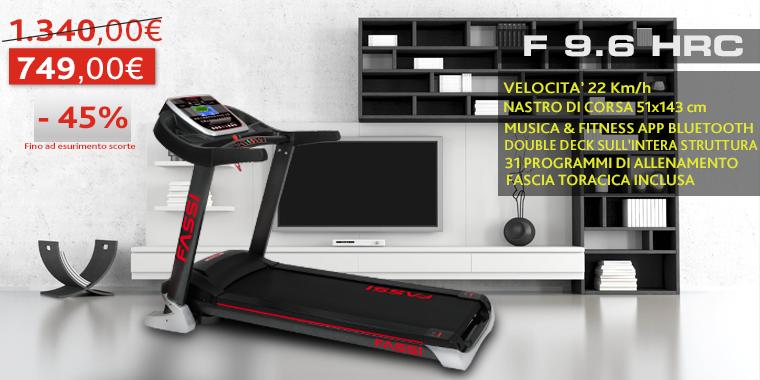 Promo Tapis Roulant Fassi F 9.6