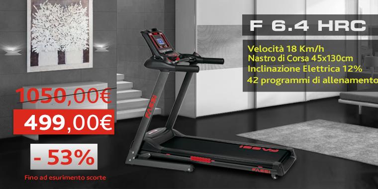 Promo Tapis Roulant Fassi F 6.4